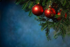 Christmas with the Christmas tree Royalty Free Stock Images