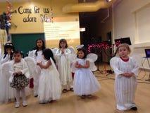 Christmas church play Stock Photo