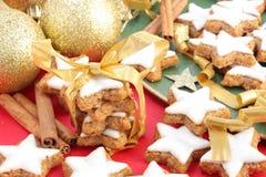 Christmas cinnamon cookies Stock Image