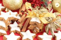 Christmas cinnamon cookies Royalty Free Stock Photo
