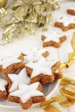 Christmas cinnamon cookies Royalty Free Stock Image
