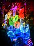 Christmas Circle Lights For Sale Royalty Free Stock Photos