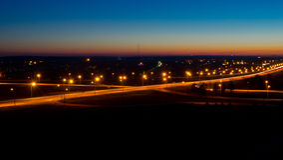 christmas city fairy latvia night provincial shortly similar tale to Στοκ Φωτογραφίες
