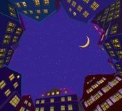 christmas city fairy latvia night provincial shortly similar tale to Διανυσματική απεικόνιση