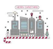 Christmas city 2016. Stock Photography
