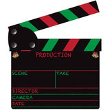 Christmas Clapper Board Blank Royalty Free Stock Photo