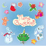 Christmas clip art Royalty Free Stock Image