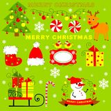 Christmas clip art Royalty Free Stock Photography