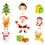 Christmas Clip Art Stock Images