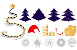 Christmas clip-art Stock Photos