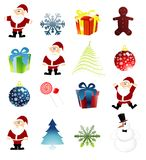 Christmas clip art Stock Photography
