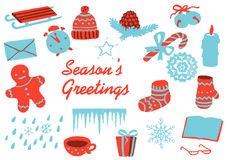 Christmas clip art Royalty Free Stock Image