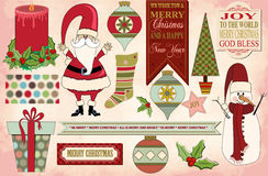 Christmas Clip Art, Pattern, Banners, Background Stock Photo