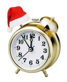 Christmas clock Stock Image