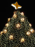 christmas close tree up στοκ εικόνες με δικαίωμα ελεύθερης χρήσης