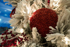 Christmas. Close up of Christmas decorations Stock Photography