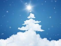 Christmas cloud Stock Photos