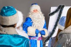 Christmas coach Stock Image