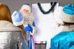 Christmas coach Stock Photos