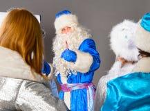 Christmas coach Royalty Free Stock Image