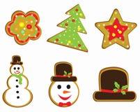 Christmas cocki background  illustration Stock Photography