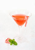 Christmas cocktail Stock Photo