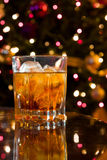 Christmas Cocktail Royalty Free Stock Image