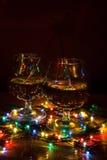 Christmas cocktails Stock Photos