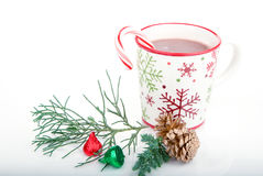 Christmas cocoa beverage Royalty Free Stock Photography