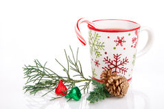 Christmas cocoa drink Royalty Free Stock Photos