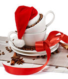 Christmas coffee Stock Photo