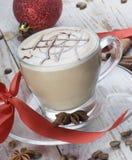 Christmas coffee Stock Images