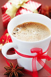 Christmas Coffee Royalty Free Stock Photo