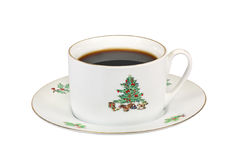 Christmas Coffee Cup Stock Images