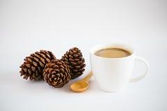 Christmas coffee cup Stock Photography