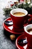 Christmas coffee Stock Image