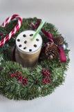 Christmas coffee Stock Photos