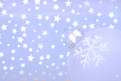 Christmas cold background Royalty Free Stock Photo