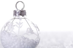 Christmas cold background Stock Photography