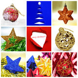 Christmas collage Royalty Free Stock Photos