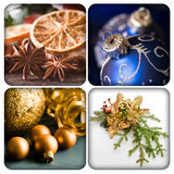 Christmas collage Royalty Free Stock Photo