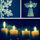Christmas collage Stock Image