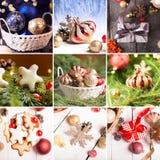 Christmas collage Royalty Free Stock Photos