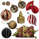 Christmas collection Stock Image