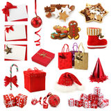 Christmas collection Stock Photos