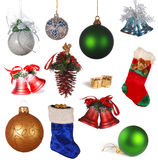 Christmas collection Royalty Free Stock Photography