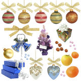Christmas Collection / Isolated Objects Royalty Free Stock Photo
