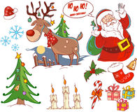 Christmas collection Royalty Free Stock Photos