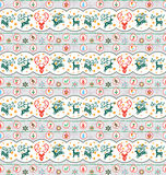 Christmas Collection Pattern Royalty Free Stock Photos