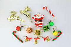 Christmas collection and santa claus Stock Photography